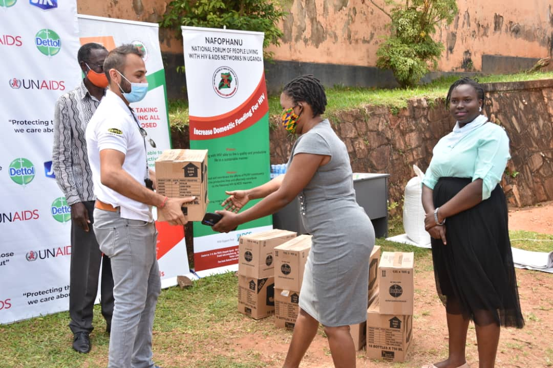Donation of Jik and Dettol soap