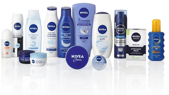 Nivea range of products image