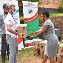 Through Dembe group, Reckitt Benckiser donates $240,000 worth of Dettol and Jik to people living with HIV in Uganda via UNAIDS